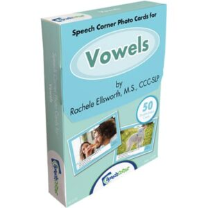 Speech Corner Photo Cards - Vowels-0