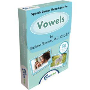 Speech Corner Photo Cards - Vowels-0