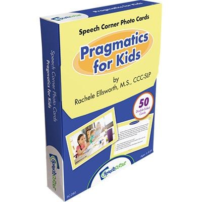 Speech Corner Photo Cards Pragmatics for Kids-0