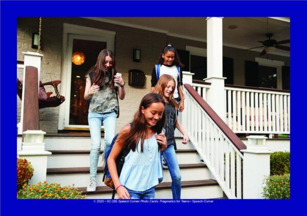 Speech Corner Photo Cards Pragmatics for Teens-6001
