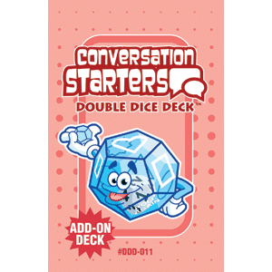 Conversation Starters Double Dice Add-On Deck **Damaged/Dented Discount** Web Only-0
