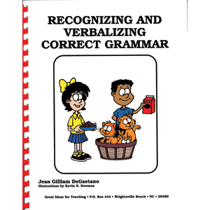 Recognizing & Verbalizing Correct Grammar-0