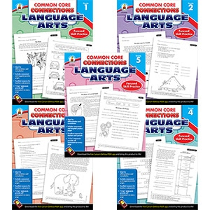 Common Core Connections For Language Arts (5 book set)-0