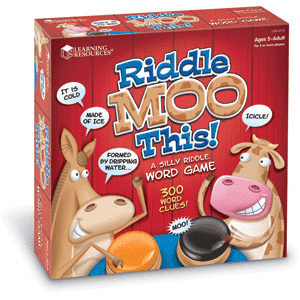 Riddle Moo This - A Silly Riddle Word Game-0