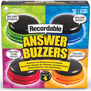 Recordable Answer Buzzers-0