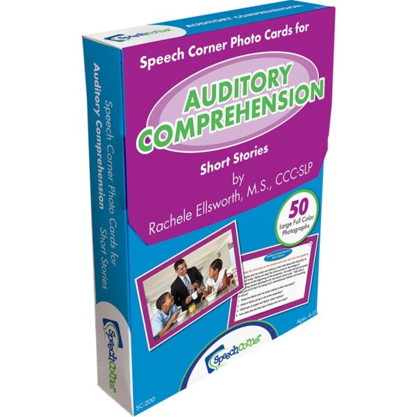 Speech Corner Photo Cards For Auditory Comprehension--Short Stories-6331