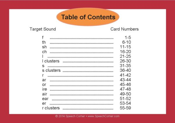 Speech Corner Photo Cards For Articulation Carryover-3119