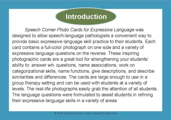 Speech Corner Photo Cards For Expressive Language-3112