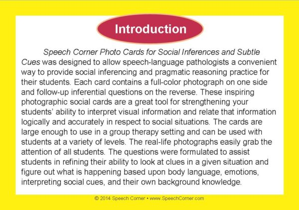 Speech Corner Photo Cards For Social Inferences & Subtle Cues-3095