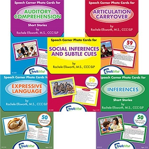 Speech Corner Photo Cards Bundle (SC-200, 205, 210, 215, 220)-0