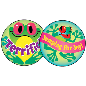 Praise Words - Stinky Stickers (648 stickers, 56 designs)-2978