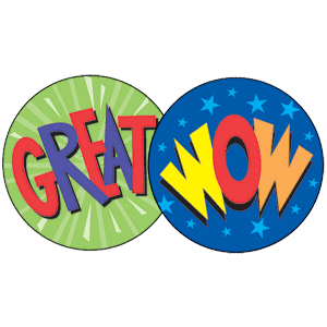 Praise Words - Stinky Stickers (648 stickers, 56 designs)-2979